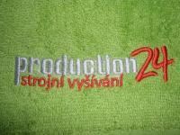 klasická výšivka - ručník - production24